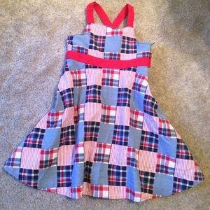 Gymboree 4th of July dress sz 7 EUC